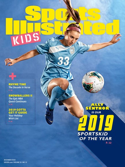 Sports Illustrated Kids Cover - 12/1/2019