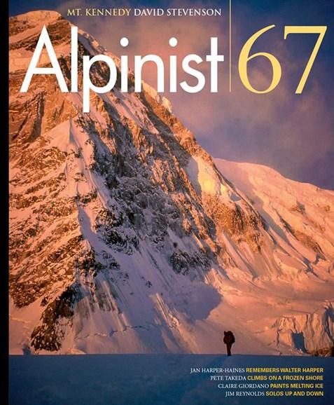 Alpinist Cover - 9/1/2019