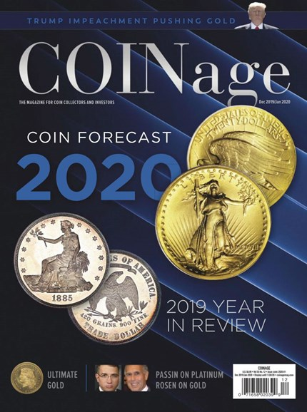 Coinage Cover - 12/1/2019