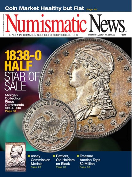 Numismatic News Cover - 12/17/2019