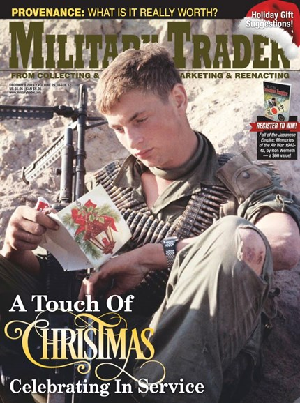 Military Trader Cover - 12/1/2019