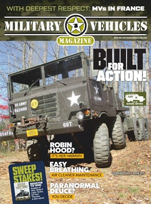 Military Vehicles Magazine | 2/2020 Cover