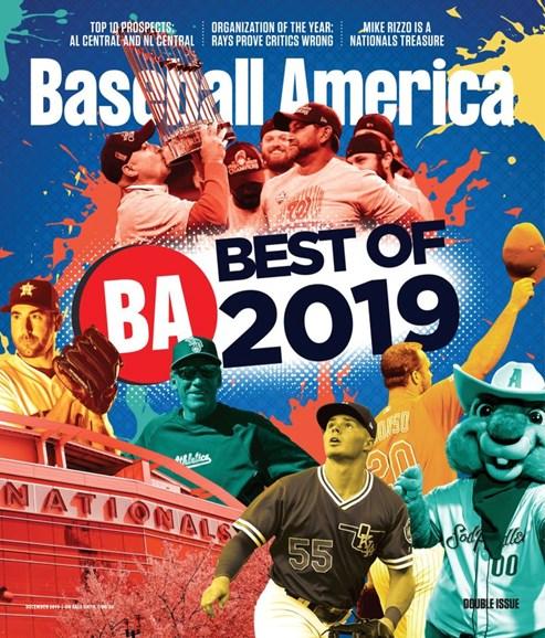 Baseball America Cover - 12/1/2019