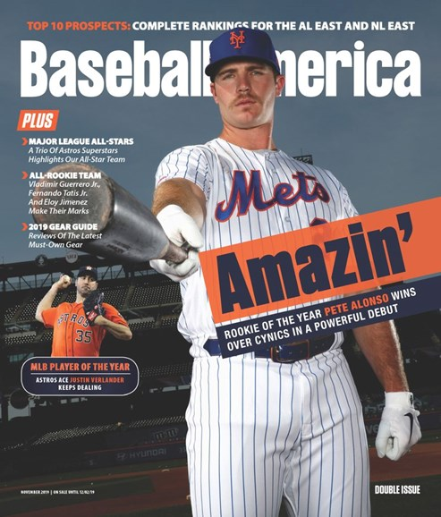 Baseball America Cover - 11/1/2019