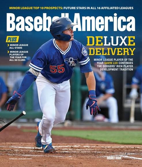 Baseball America Cover - 10/1/2019