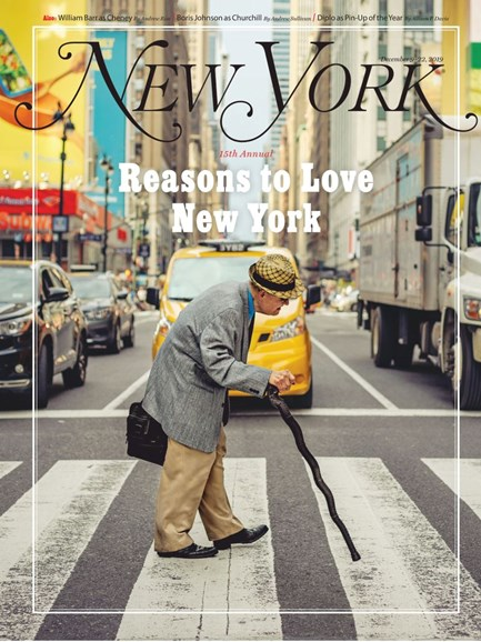 New York Magazine Cover - 12/9/2019