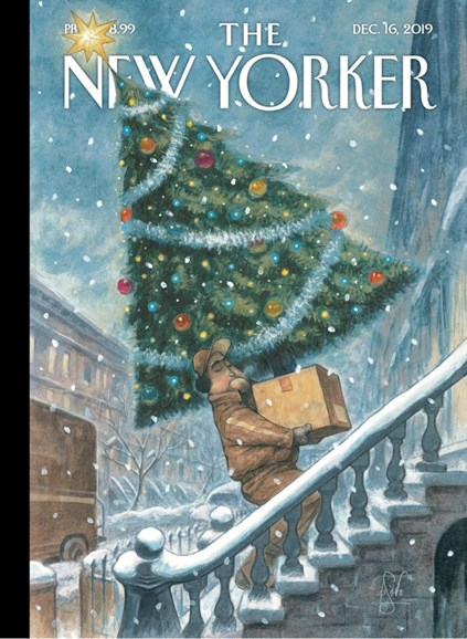 The New Yorker Cover - 12/16/2019