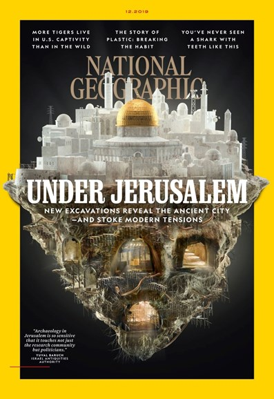 National Geographic Cover - 12/1/2019