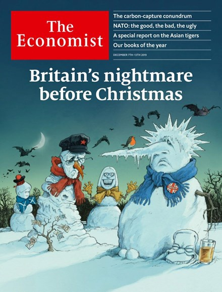 The Economist Cover - 12/7/2019