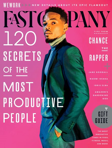 Fast Company Cover - 12/1/2019