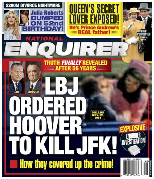 National Enquirer Cover - 12/2/2019