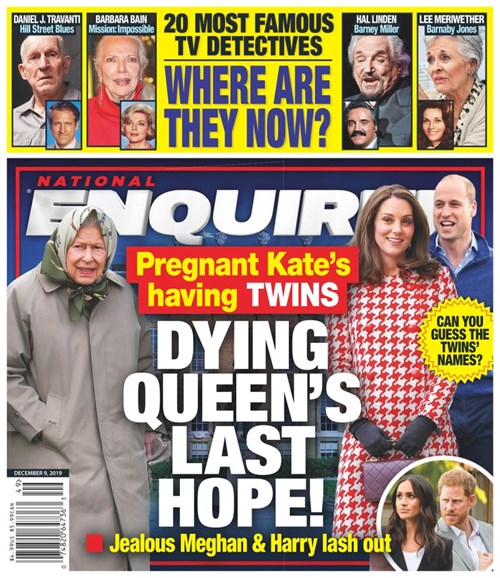 National Enquirer Cover - 12/9/2019