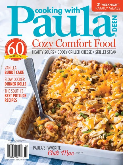 Cooking With Paula Deen Cover - 1/1/2020