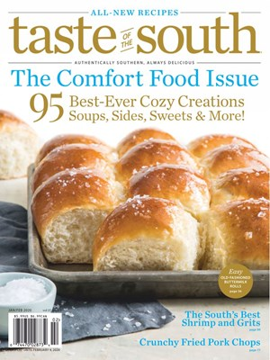 Taste Of The South Magazine | 1/2020 Cover