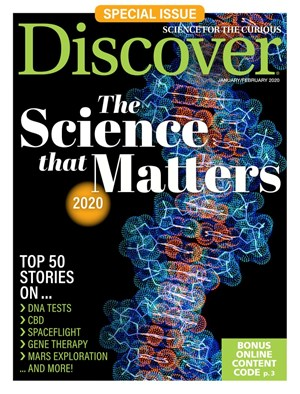 Discover Magazine | 1/2020 Cover