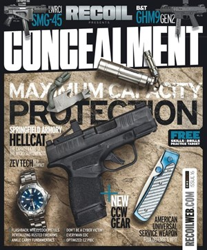 Recoil Concealment | 12/2019 Cover