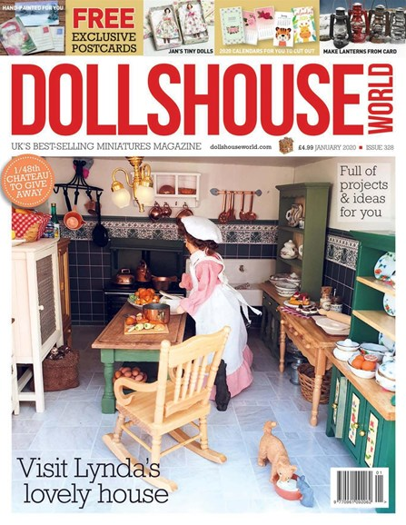Dolls House World Cover - 1/1/2020