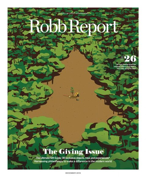 Robb Report Cover - 12/1/2019
