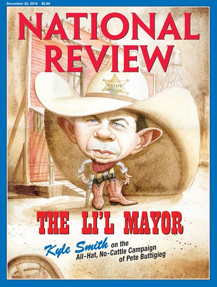 National Review Cover - 12/22/2019
