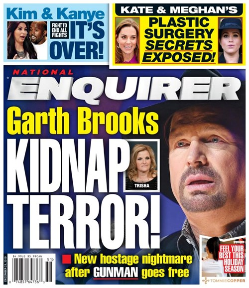 National Enquirer Cover - 12/23/2019