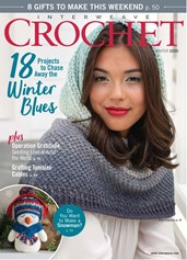 Interweave Crochet | 12/2019 Cover