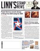 Linn's Stamp News Magazine 11/25/2019