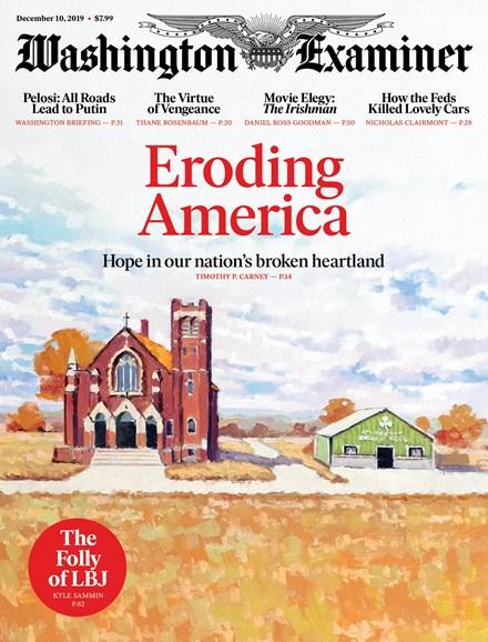 Washington Examiner Cover - 12/10/2019