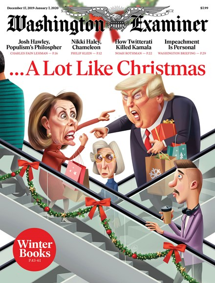Washington Examiner Cover - 12/17/2019