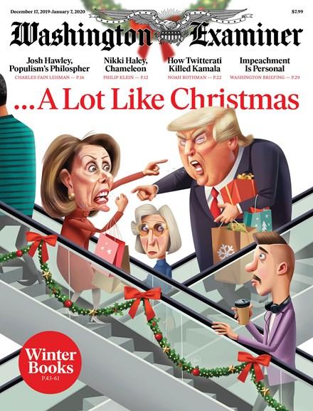 Washington Examiner Cover - 12/17/2019