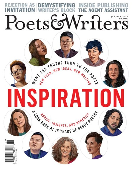 Poets & Writers Cover - 1/1/2020