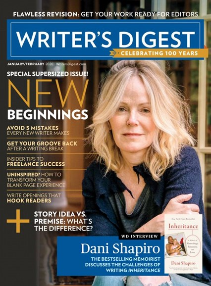 Writer's Digest Cover - 1/1/2020
