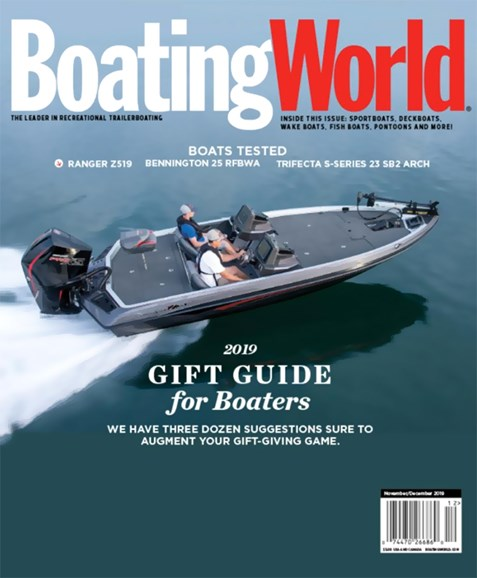 Boating World Cover - 11/1/2019