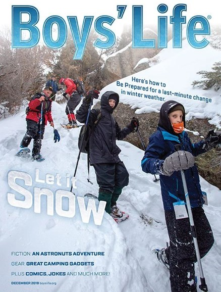 Boy's Life Cover - 12/1/2019