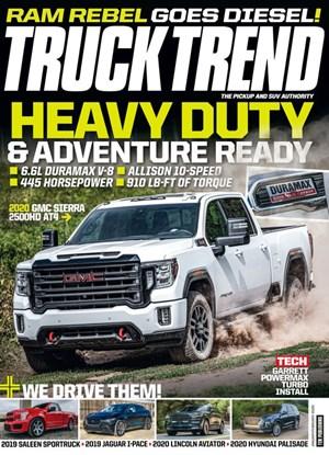 Truck Trend Magazine | 1/1/2020 Cover