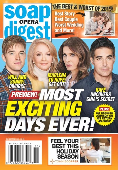 Soap Opera Digest Cover - 12/23/2019