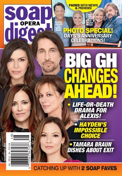 Soap Opera Digest Cover - 12/2/2019