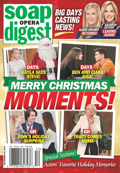 Soap Opera Digest Cover - 12/30/2019