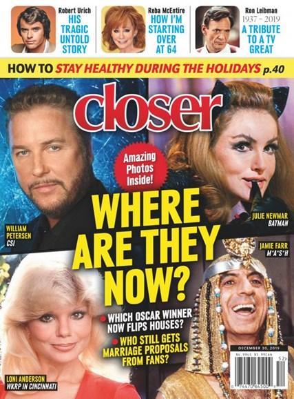 Closer Cover - 12/30/2019