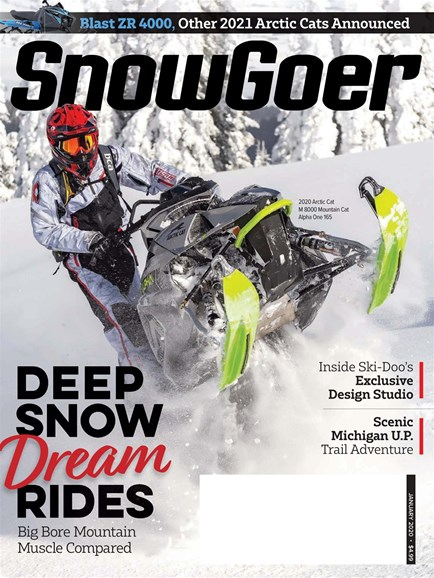 Snow Goer Cover - 1/1/2020
