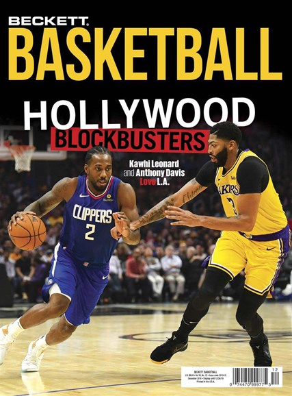 Beckett Basketball Cover - 12/1/2019
