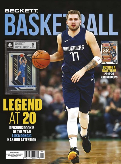 Beckett Basketball Cover - 1/1/2020