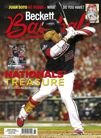 Beckett Baseball Cover - 1/1/2020