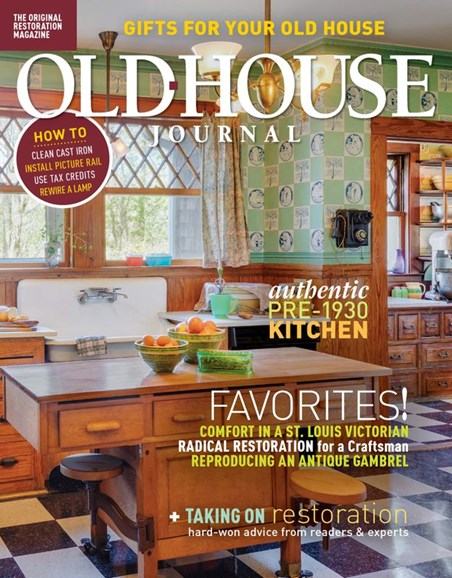 Old House Journal Cover - 12/1/2019