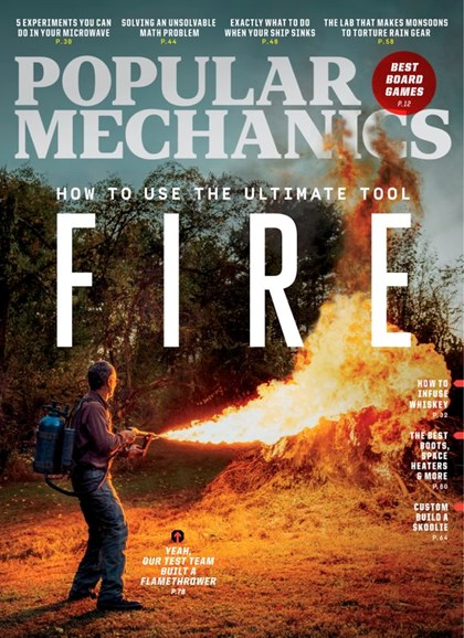 Popular Mechanics Cover - 12/1/2019
