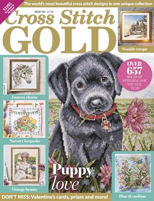 Cross Stitch Gold Magazine | 12/2019 Cover