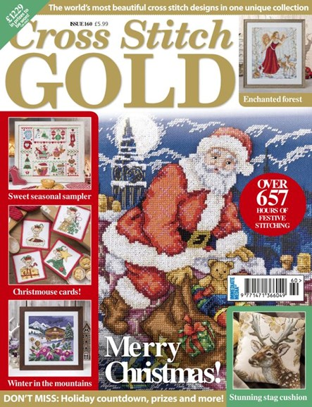 Cross Stitch Gold Cover - 11/1/2019