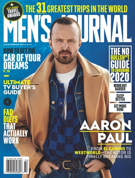 Men's Journal Cover - 1/1/2020