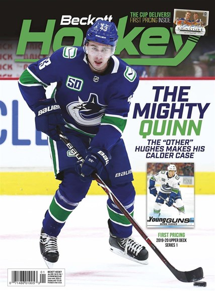Beckett Hockey Cover - 1/1/2020