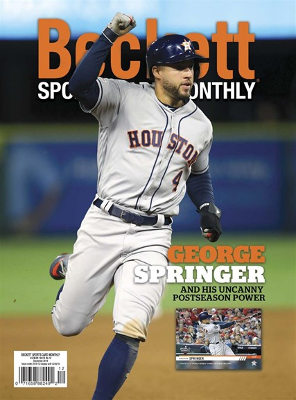 Beckett Sports Card Monthly Cover - 12/1/2019