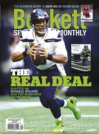 Beckett Sports Card Monthly Magazine | 1/2020 Cover
